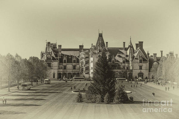 Photograph - Vintage Biltmore Christmas by Dale Powell