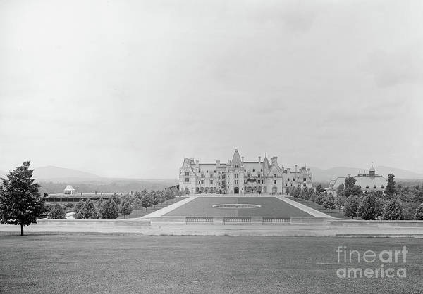 Photograph - Vintage Biltmore Circa 1896 by Dale Powell