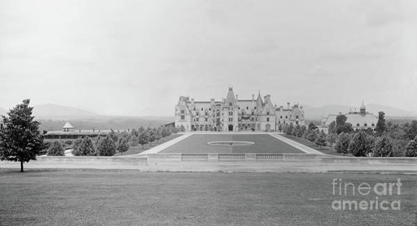 Photograph - Vintage Biltmore Estate Circa 1895 In Asheville Nc  by Dale Powell