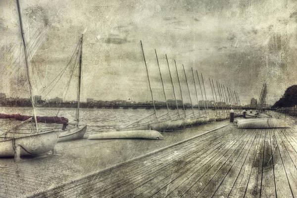 Photograph - Vintage Boston Mit Sailing Pavilion by Joann Vitali