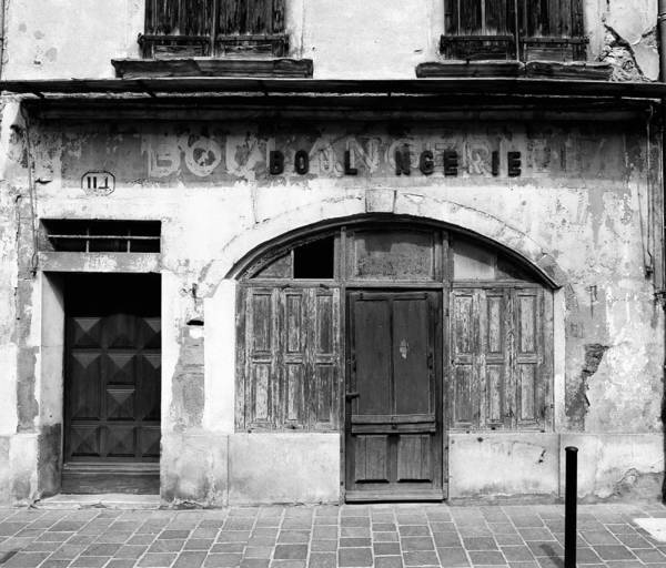 Photograph - Vintage Boulangerie 1b by Andrew Fare