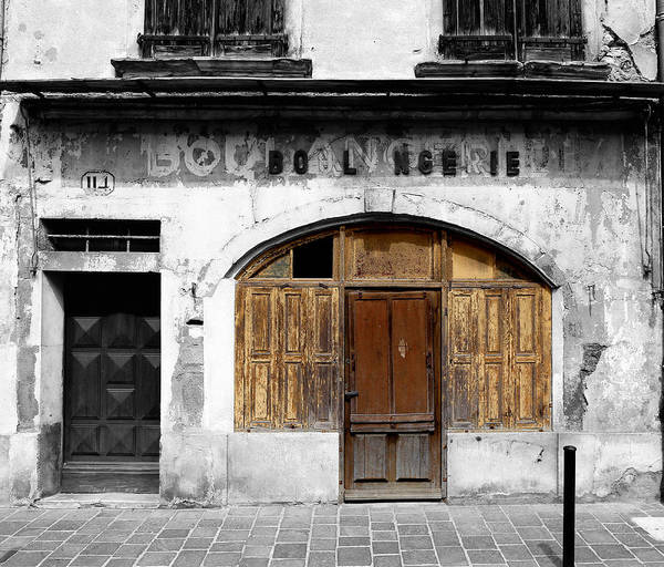 Photograph - Vintage Boulangerie 1c by Andrew Fare