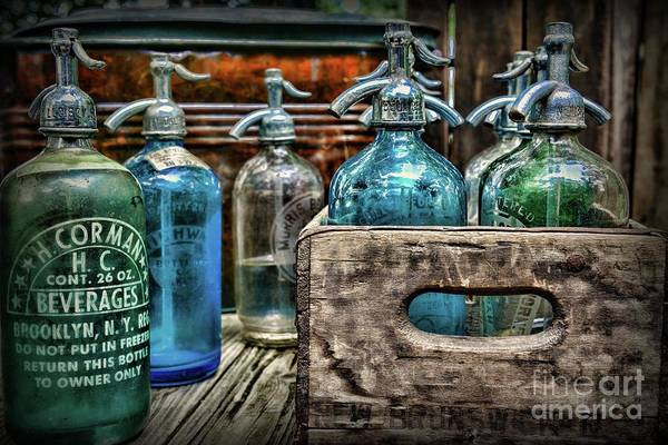 Wall Art - Photograph - Vintage Brooklyn Ny Seltzer Bottle by Paul Ward