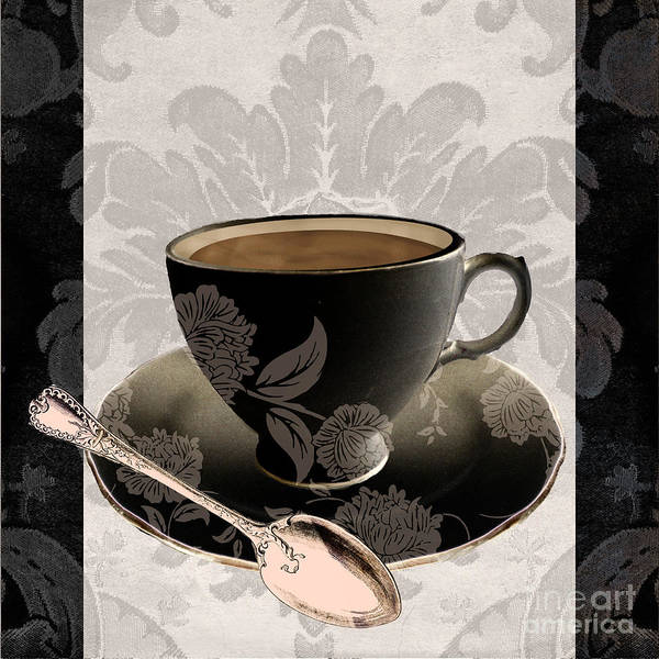 Mocha Painting - Vintage Cafe IIi by Mindy Sommers