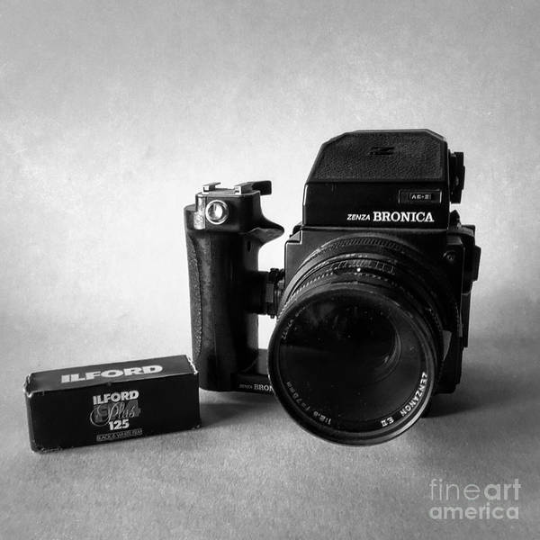 High Speed Photograph - Vintage Camera by John Edwards
