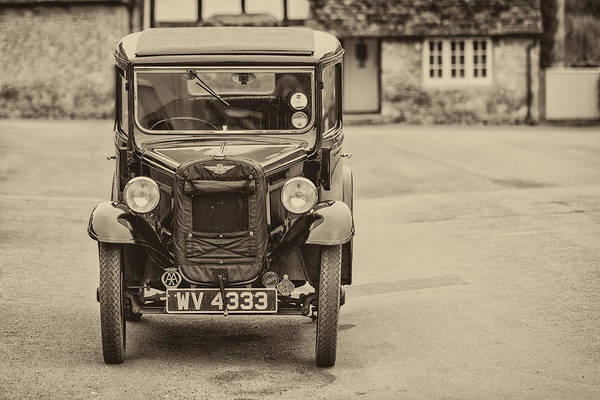 Photograph - Vintage Car by Clare Bambers
