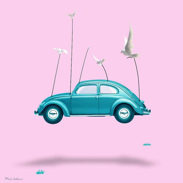 Wall Art - Digital Art - Vintage Car  by Mark Ashkenazi