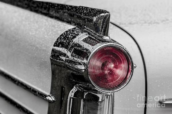 Wall Art - Photograph - Vintage Car Rain by Edward Fielding