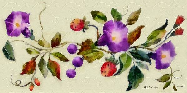 Painting - Vintage Charm by RC DeWinter