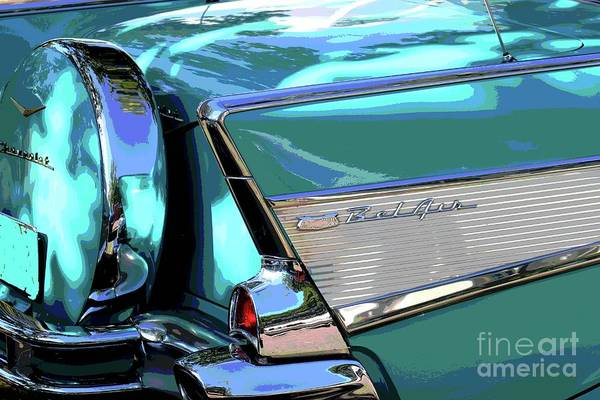 Photograph - Vintage Chevrolet Belair by The Art of Alice Terrill