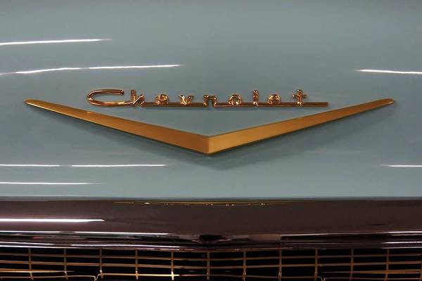 Photograph - Vintage Chevrolet Emblem by Patricia Strand