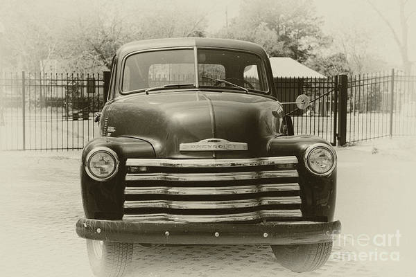 Photograph - Vintage Chevrolet Pickup Truck by Dale Powell