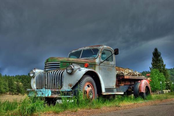Photograph - Vintage Chevrolet by Tony Baca