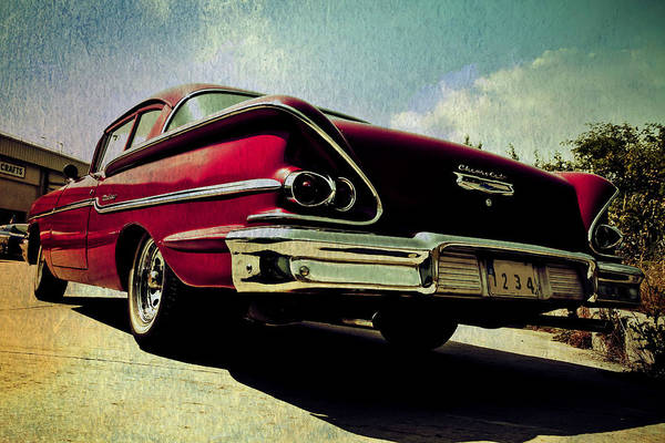 Photograph - Vintage Chevy by Digital Art Cafe