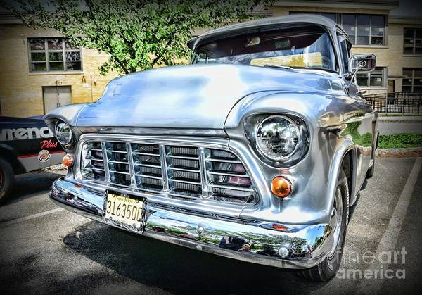 Wall Art - Photograph - Vintage Chevy Pick Up Truck by Paul Ward