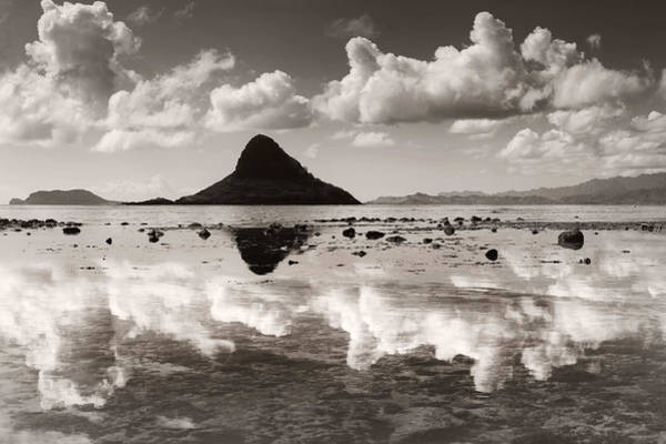 Mokolii Photograph - Mokolii Reflections by Sean Davey