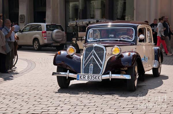 Photograph - Vintage Citroen In Krakow by Brenda Kean