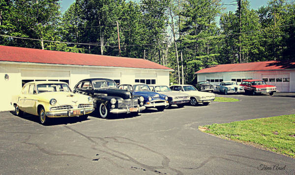 Photograph - Vintage Classic Cars by Trina Ansel