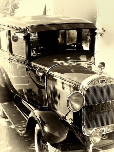 Photograph - Vintage Classic Ride by Julie Palencia