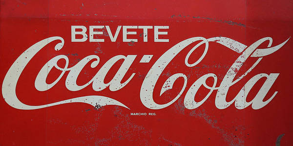 Photograph - Vintage Coca Cola Sign by Andrew Fare