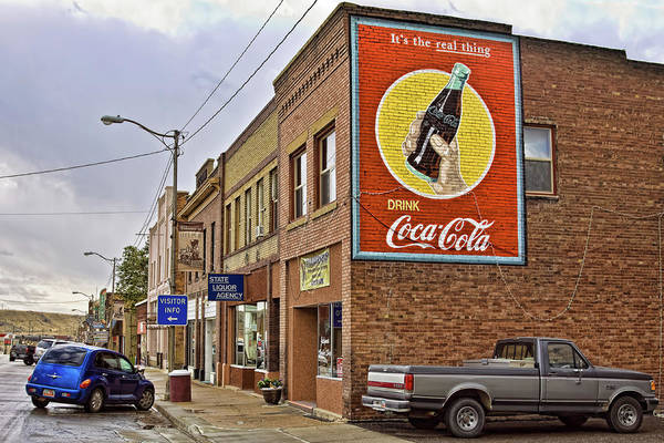 Photograph - Vintage Coca Cola Sign by Tatiana Travelways
