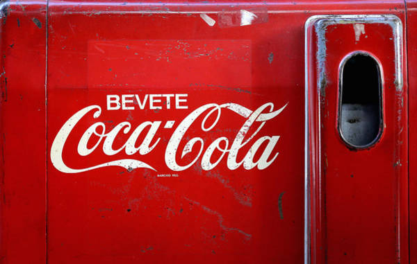 Photograph - Vintage Coke Cooler by Andrew Fare