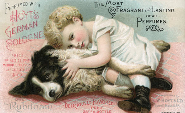 Togetherness Painting - Vintage Cologne Advertisement by Unknown