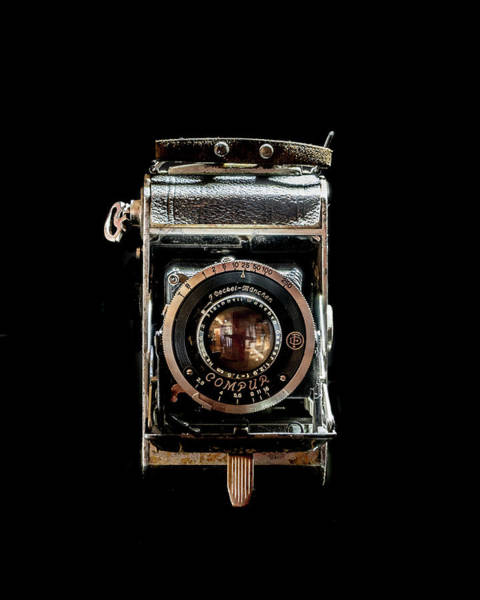 Photograph - Vintage Compur Camera  by Adam Reinhart