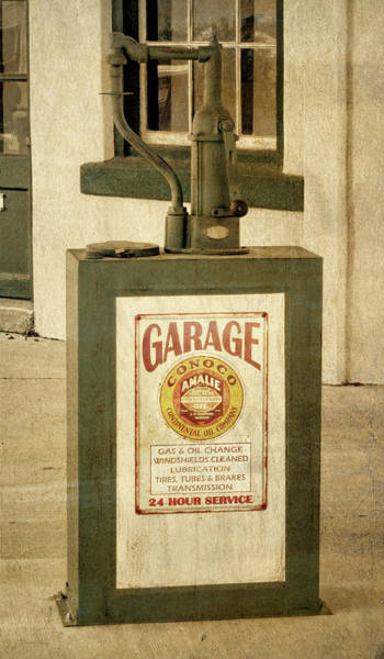 Photograph - Vintage Conoco Lubester by David King