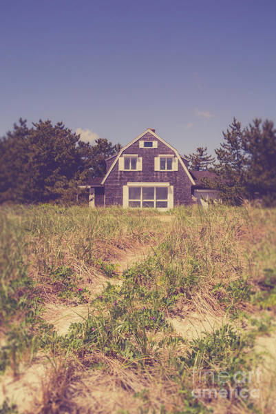 Wall Art - Photograph - Vintage Cottage Cape Cod by Edward Fielding