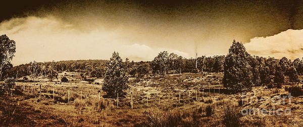 Wall Art - Photograph - Vintage Cradle Mountain Panorama by Jorgo Photography - Wall Art Gallery