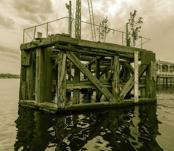 Photograph - Vintage Docking Bay B by Jacek Wojnarowski