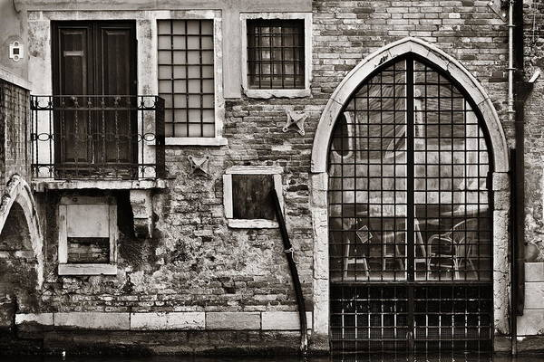 Photograph - Vintage Door And Window by Songquan Deng