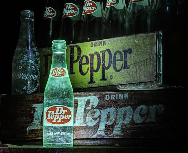 Photograph - Vintage Dr Pepper by JC Findley