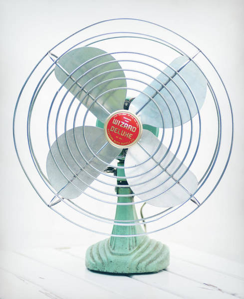 Photograph - Vintage Electric Fan 1950 by Terry DeLuco