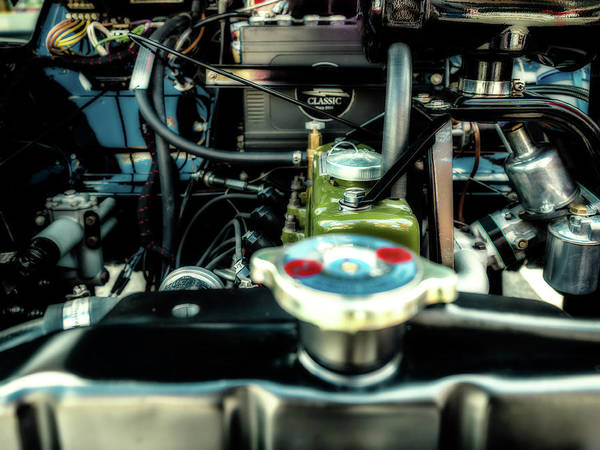 Photograph - Vintage Engine by Nick Bywater