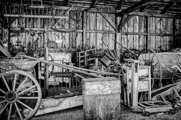 Photograph - Vintage Farm Display by Betty Pauwels
