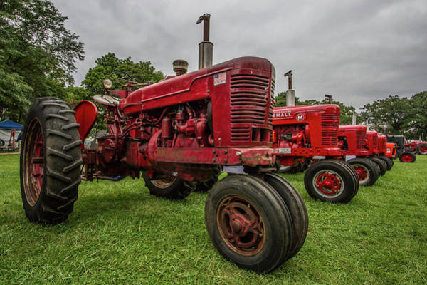 Wall Art - Photograph - Vintage Farmall by Mike Burgquist