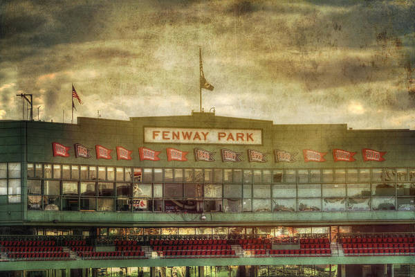 Arena Photograph - Vintage Fenway Park - Boston by Joann Vitali