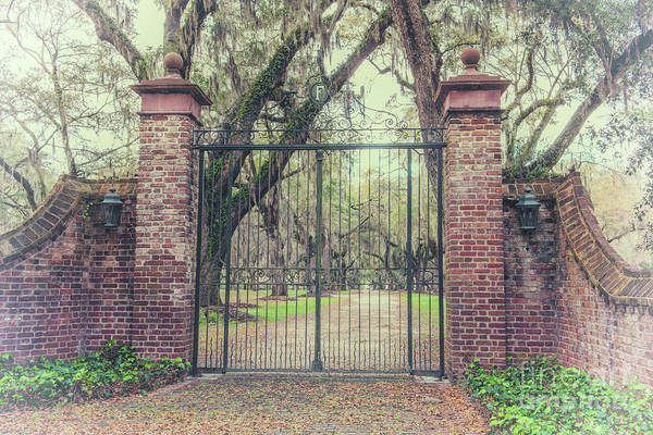 Photograph - Vintage Fenwick Hall Gate by Dale Powell