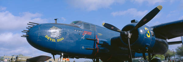 Douglas County Wall Art - Photograph - Vintage Fighter Aircraft, Burnet, Texas by Panoramic Images
