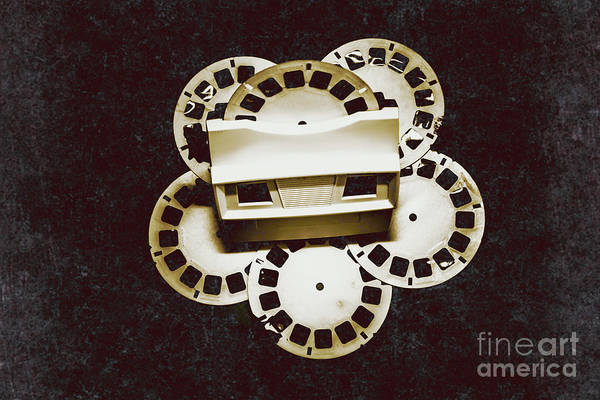 Film Still Photograph - Vintage Film Toy by Jorgo Photography - Wall Art Gallery