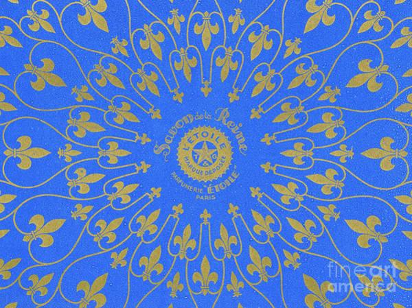 Fleur De Lys Painting - Vintage Fleur De Lis Pattern Design by French School