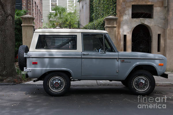 Photograph - Vintage Ford Bronco by Dale Powell