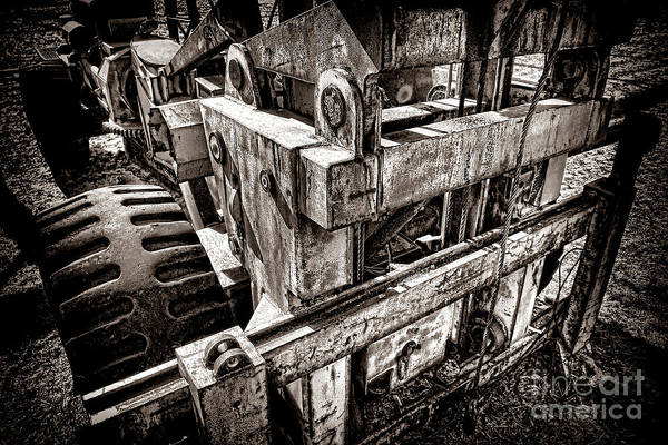Wall Art - Photograph - Vintage Forklift  by Olivier Le Queinec