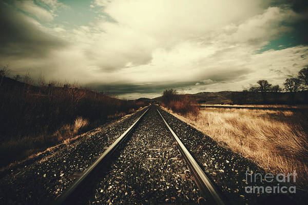 Approach Wall Art - Photograph - Vintage Freight Lines And Logistics by Jorgo Photography - Wall Art Gallery