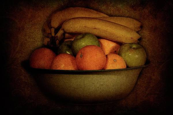 Photograph - Vintage Fruit by Angie Tirado