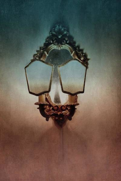 Photograph - Vintage Gilded Sconce by Patricia Strand