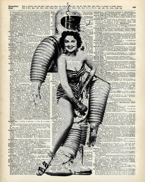 Wall Art - Photograph - Vintage Girl In Robot Costume by Anna W