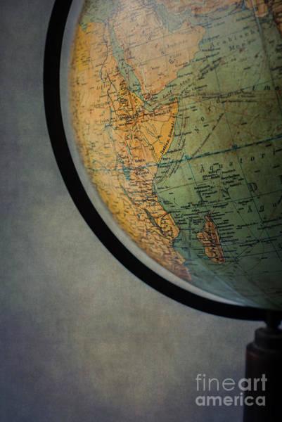 Photograph - Vintage Globe by David Lichtneker